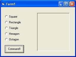 What is option button in visual basic